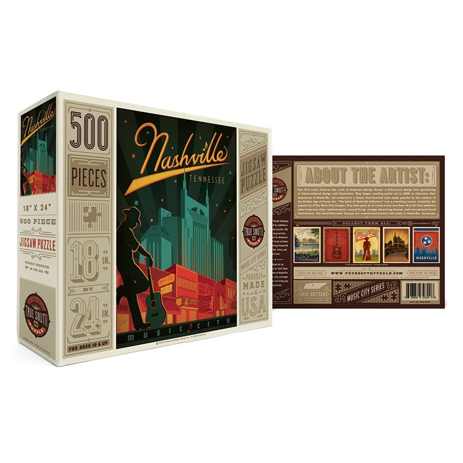 Nashville Music City Puzzle