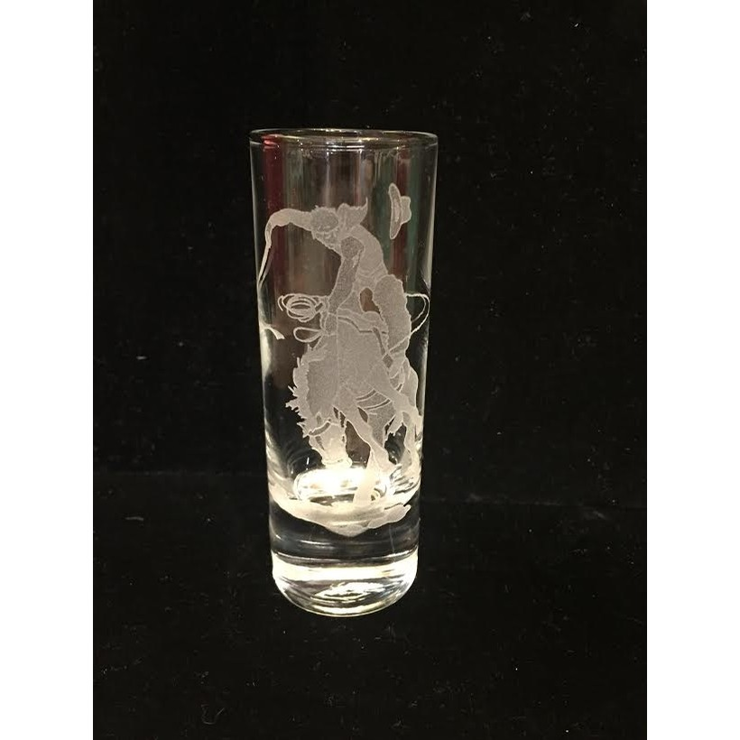 Evergeen Crystal Inc Bronc Rider Cordial Shot
