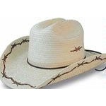 Sun Body Hats Kid's Cattleman Hat with Barbed Wire Design
