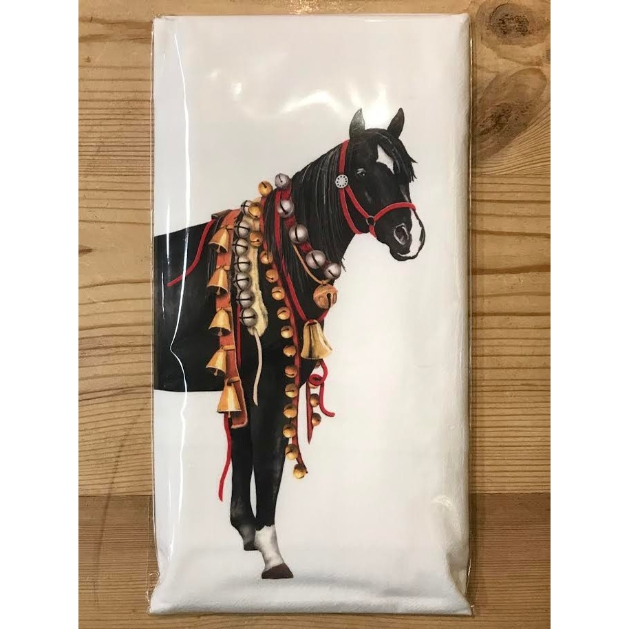 Horse with Bells Towel