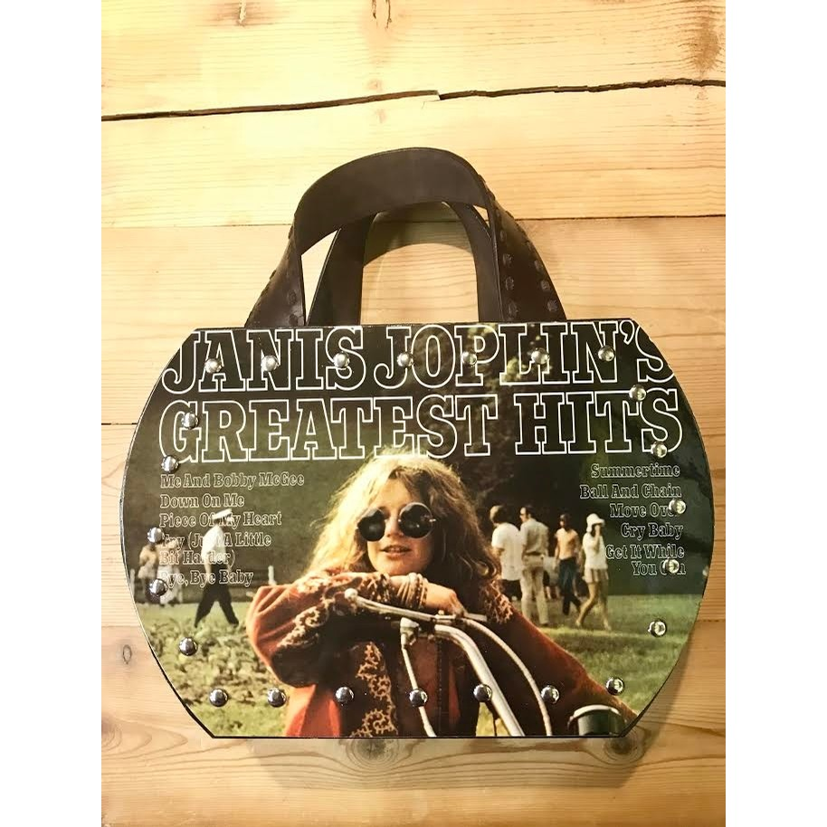 She's A Rainbow Janis Joplin Greatest Hits Purse