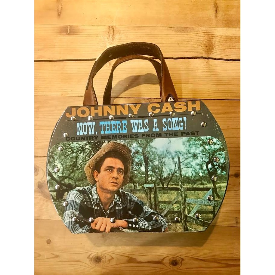Johnny Cash Now There Was A Song Purse