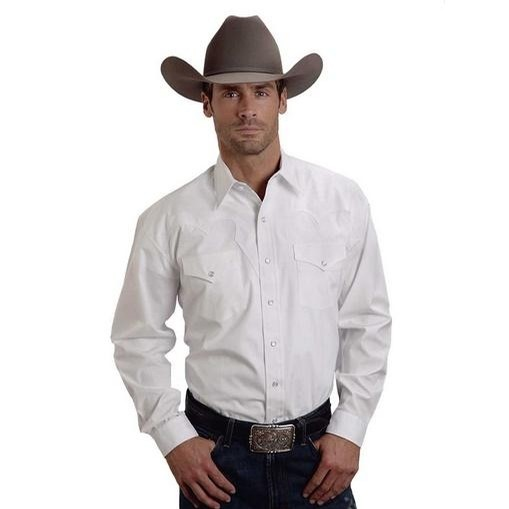 Optic White Poplin Shirt