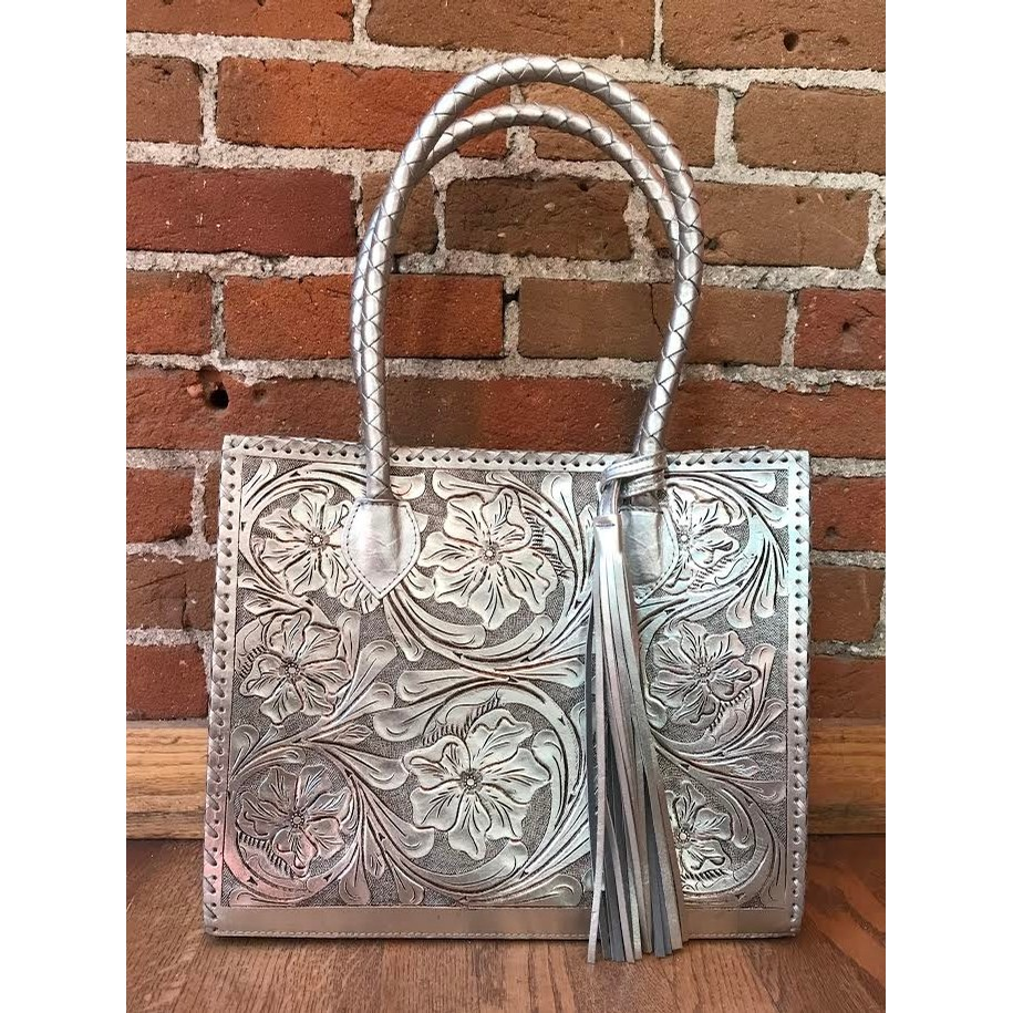 Marcos Tooled Tote (3 colors)