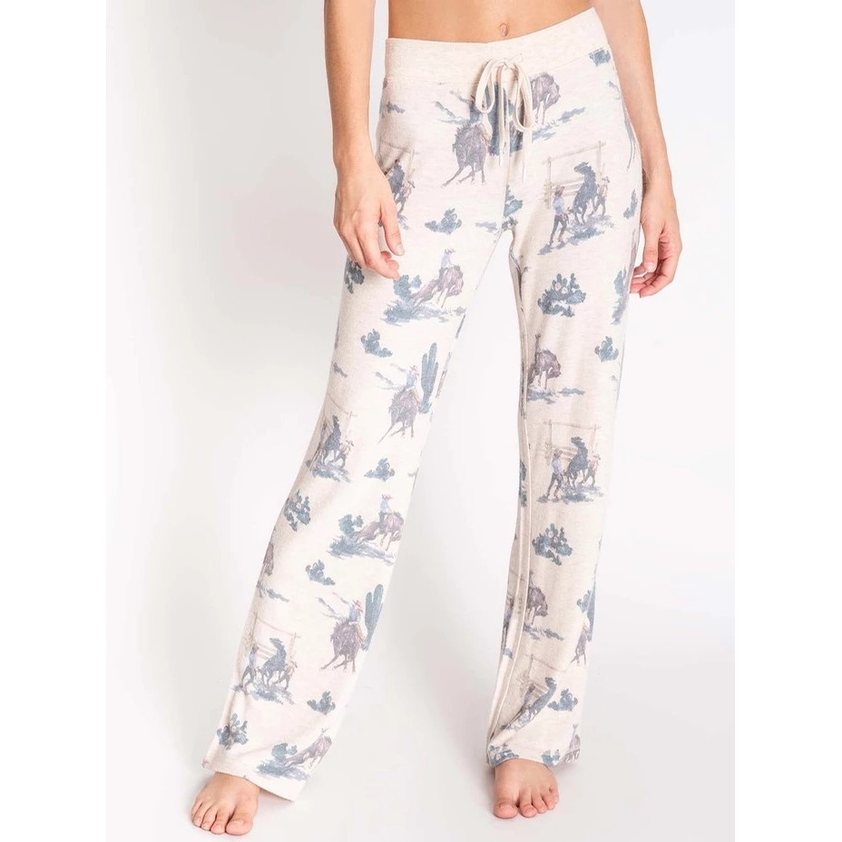 PJ Salvage Wanted Jammie Relaxed Pant