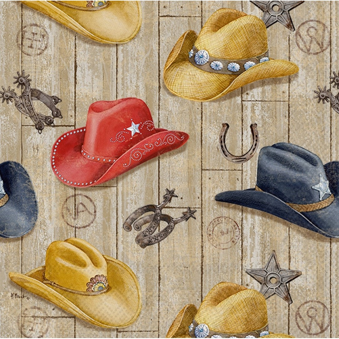 Wild West Hats Cocktail Napkins