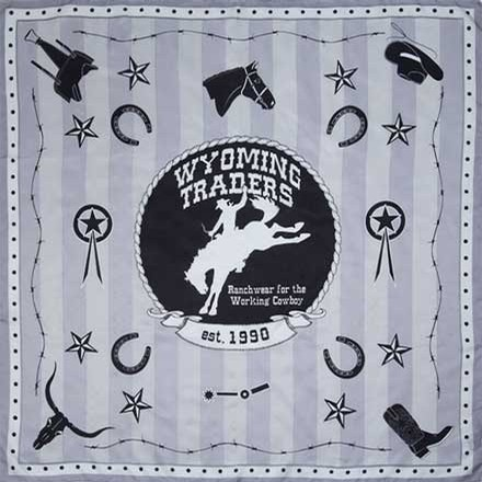 Wyoming Traders Logo Silk Scarf