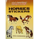 Glitter Horses Sticker Book (Colored)