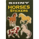 Shiny Horses Sticker Book (Colored)