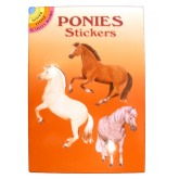 Ponies Sticker Book (Colored)
