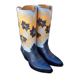Liberty Women's Morning Lily Boot (Navy/Sky/Yellow)