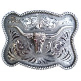 Clint Orms Washington 1815 Trophy Buckle (Silver/Ruby)