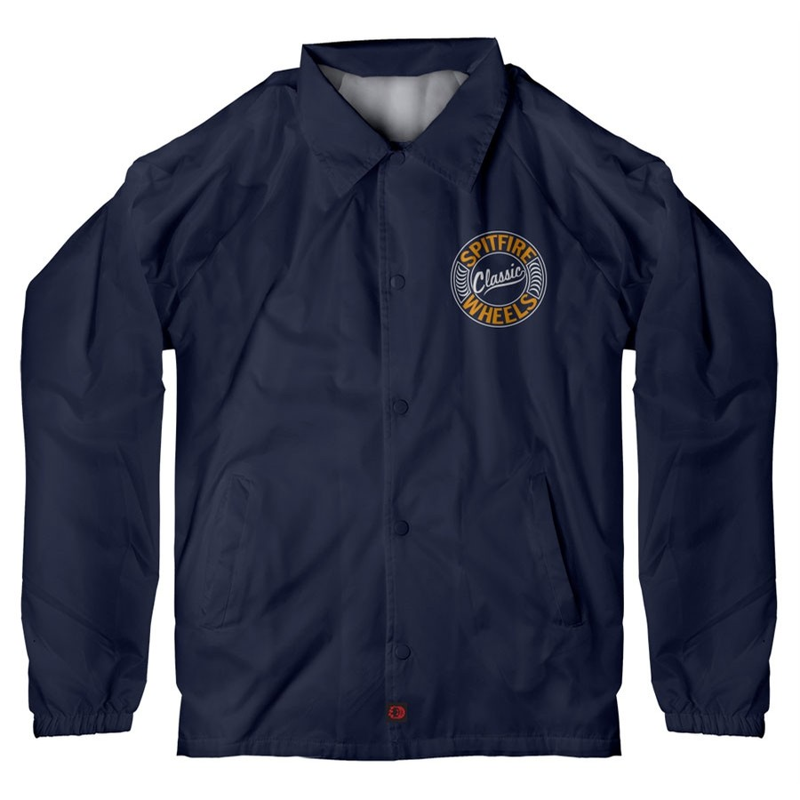 Flying Classic Jacket | Navy/Orange