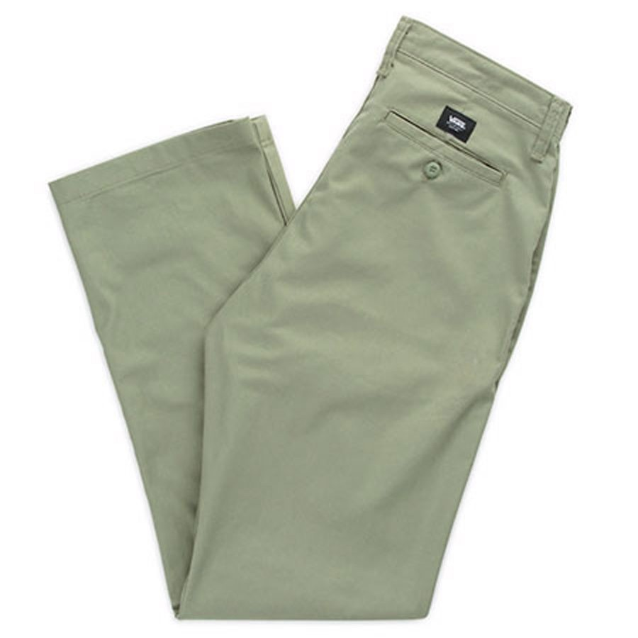 Authentic Chino Pant | Oil Green
