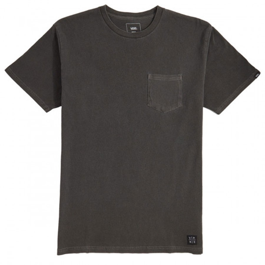 Elijah Berle Pico BLVD Pocket TEE | Overdyed Black