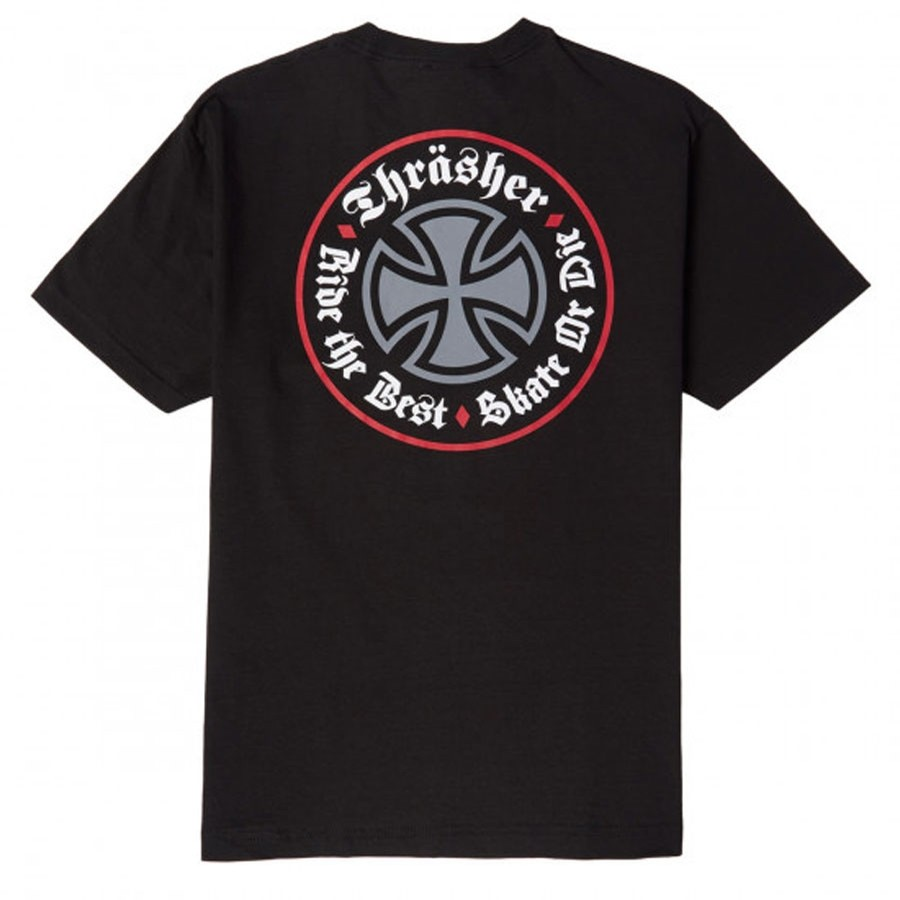 Independent X Thrasher Oath Tee | Black