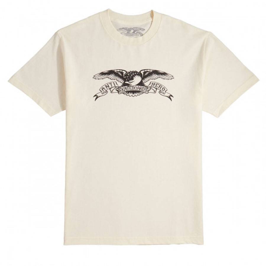 Basic Eagle Tee | Cream/Black
