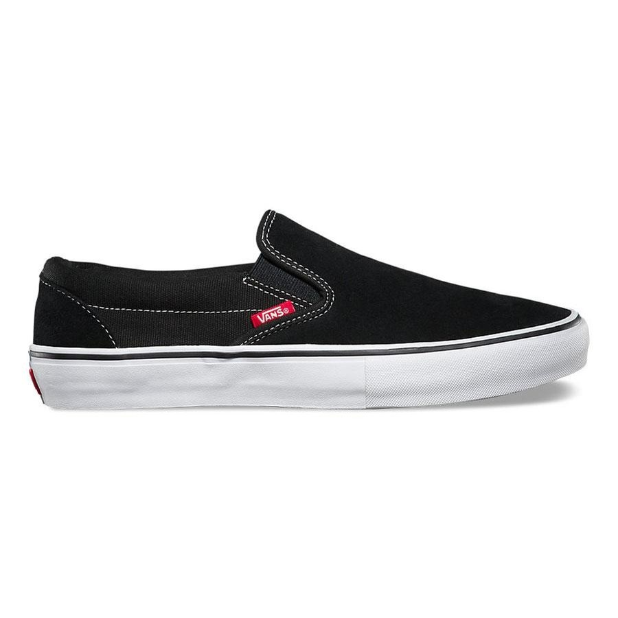 VANS Slip On Pro | Black/White/Gum