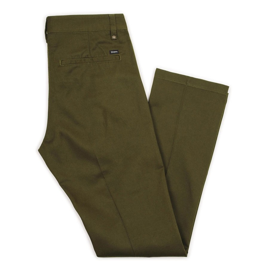 Fleet Light Weight Rigid Chino Pant | Olive