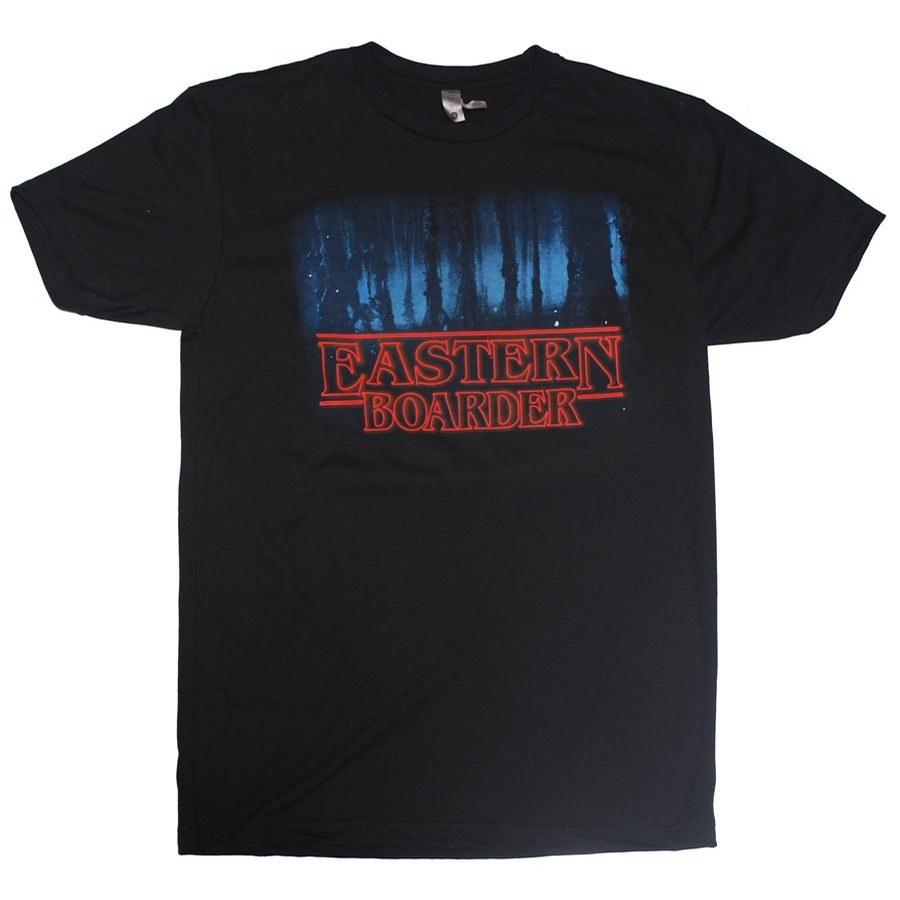 Eastern Boarder Stranger Things Tee | Black
