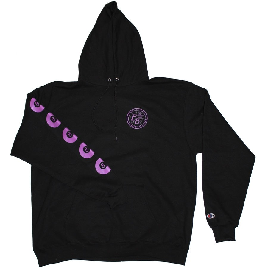 Members Hoodie (Champion) | Black/Lilac
