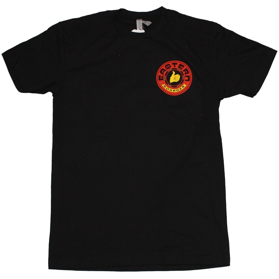 eastern boarder Bultaco Tee | Black / Red / Yellow