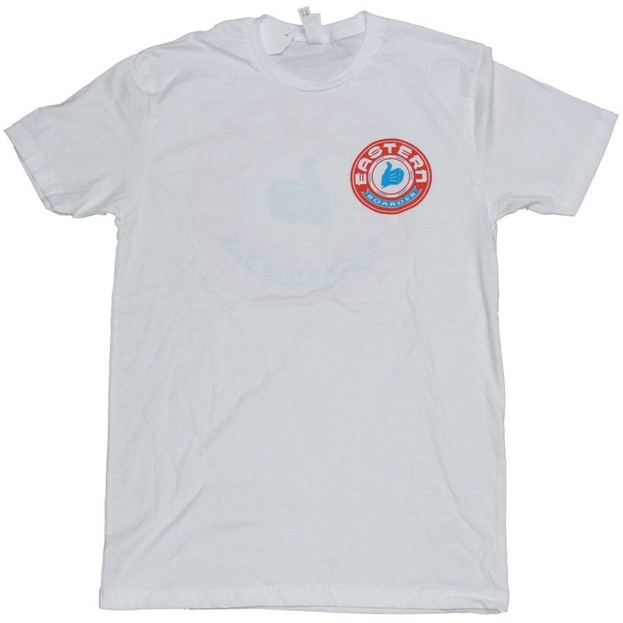 Bultaco Tee | White / Blue / Red