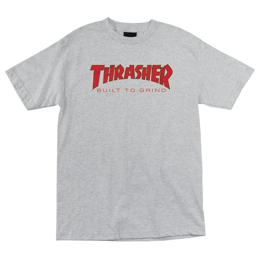 Independent X Thrasher BTG Tee | Heather Grey