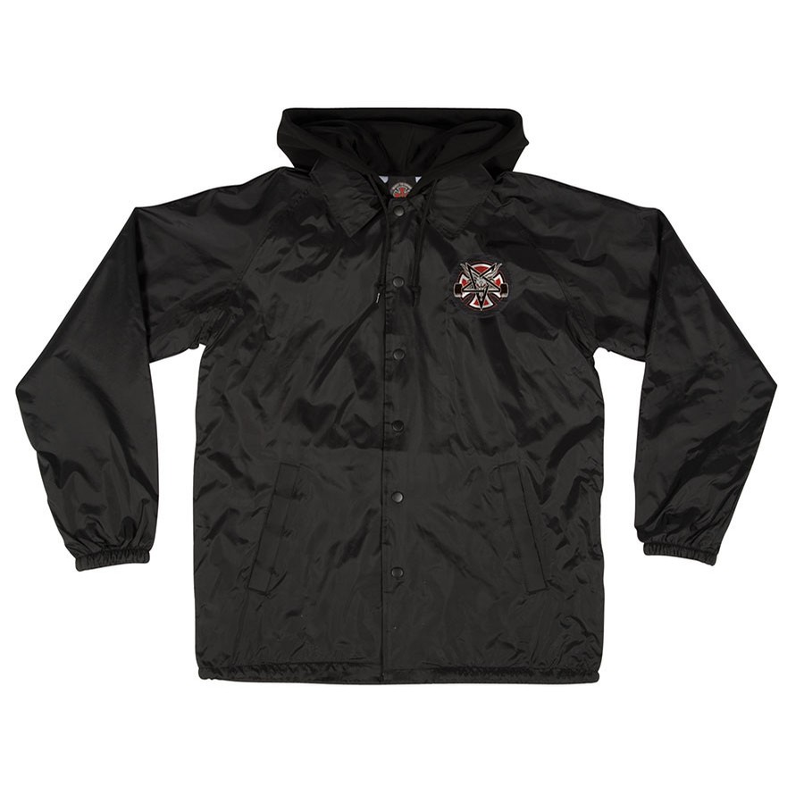 Independent X Thrasher Pentagram Cross Windbreaker