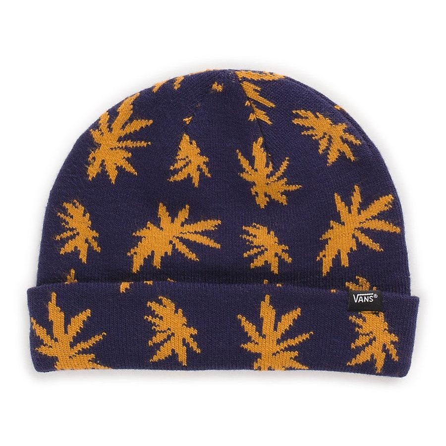 VANS Palm Beanie | Peacoat Palm Leaf