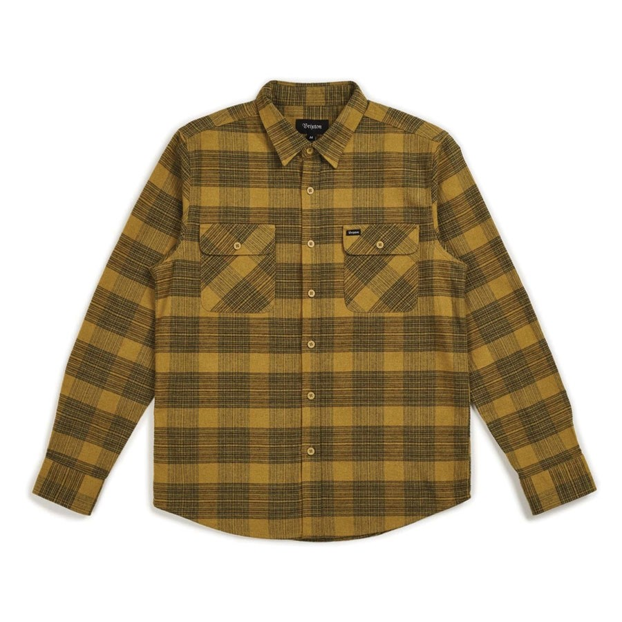 Bowery L/S Flannel | Avocado