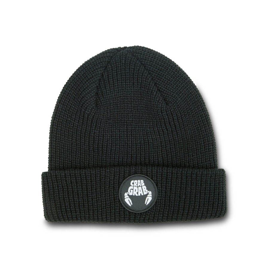 Circle Patch Beanie 2020 | Black