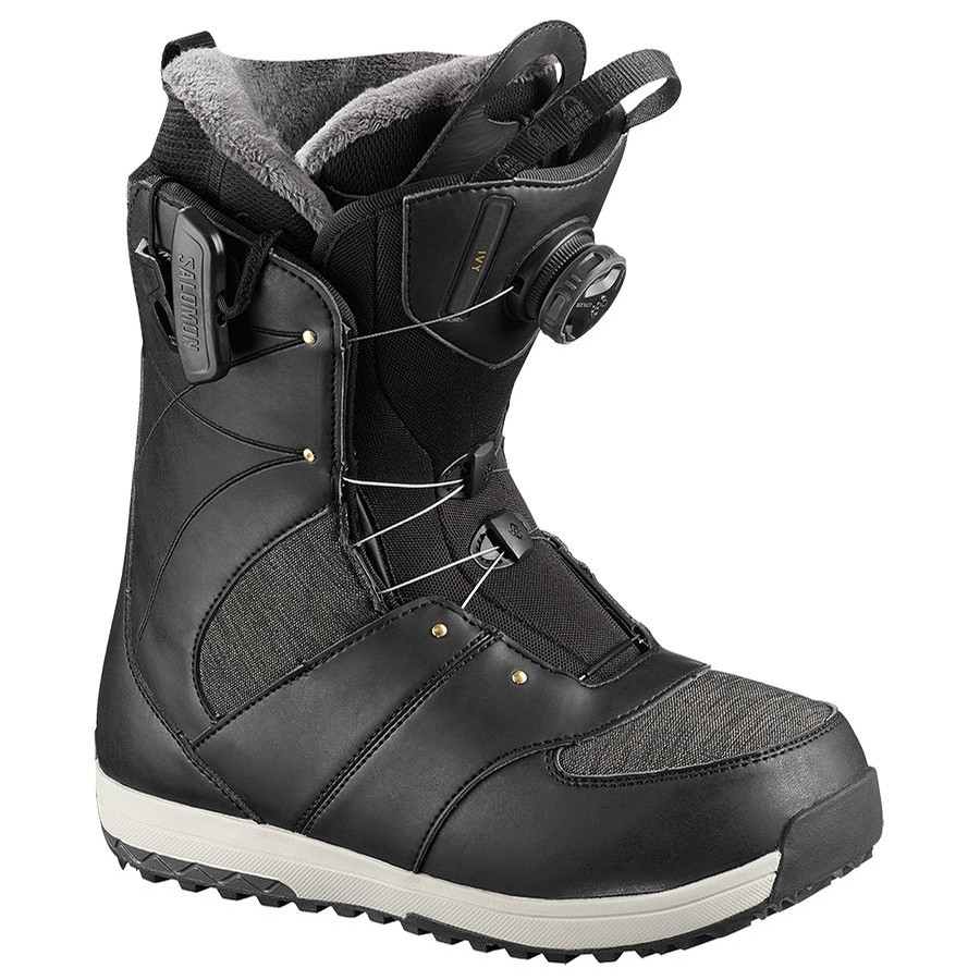 Ivy Boa Boots 2019 | SJ Black