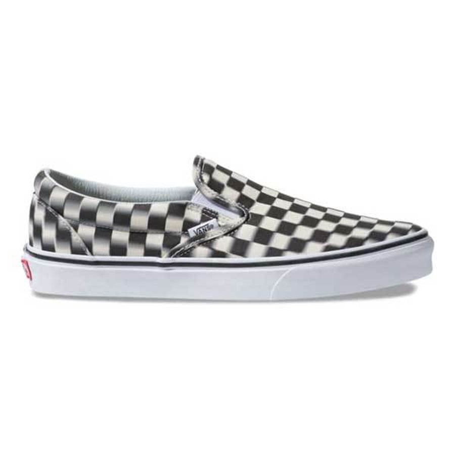 Classic Slip-On | Blurred Check