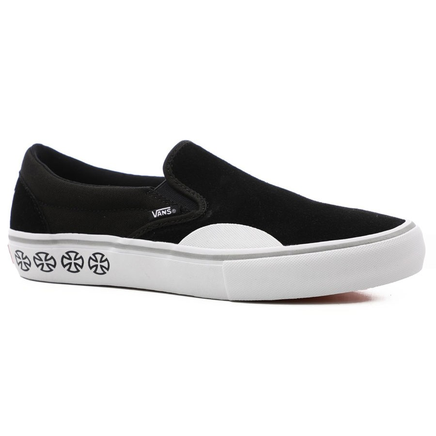Slip On Pro Independent | Black/White