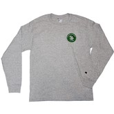 Bums Longsleeve (Champion) | Gray/Green