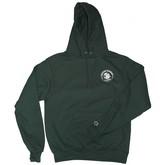 Bums Logo (Champion) Hoodie | Green/White