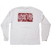 Fuck You Floral Longsleeve | White