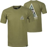 Muted Military Triple Triangle Tee | Military