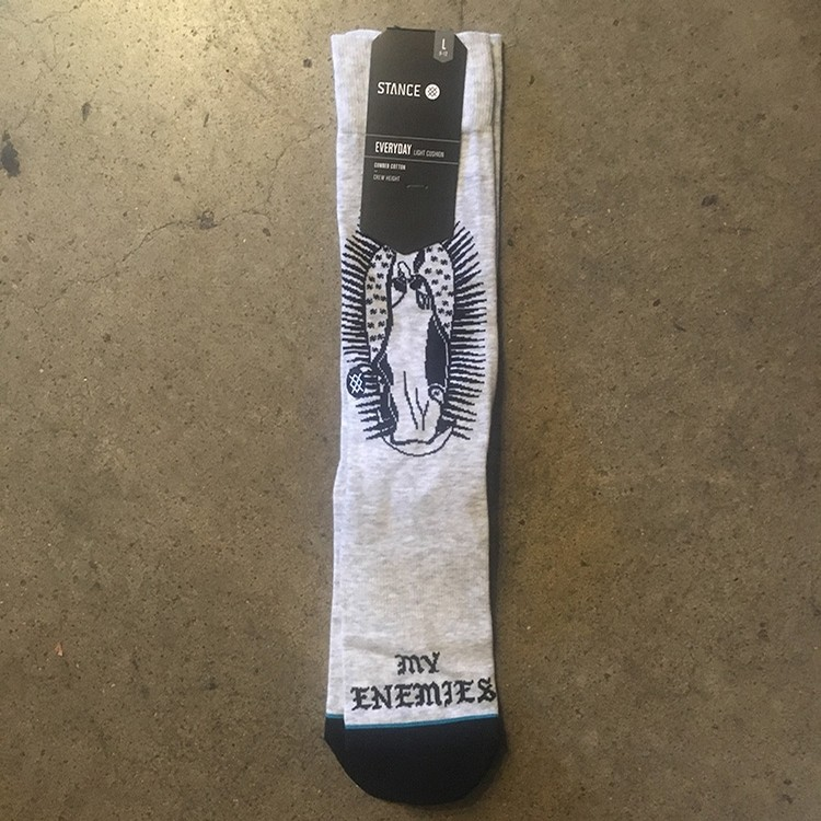 Stance Pray For Enemies (Grey)