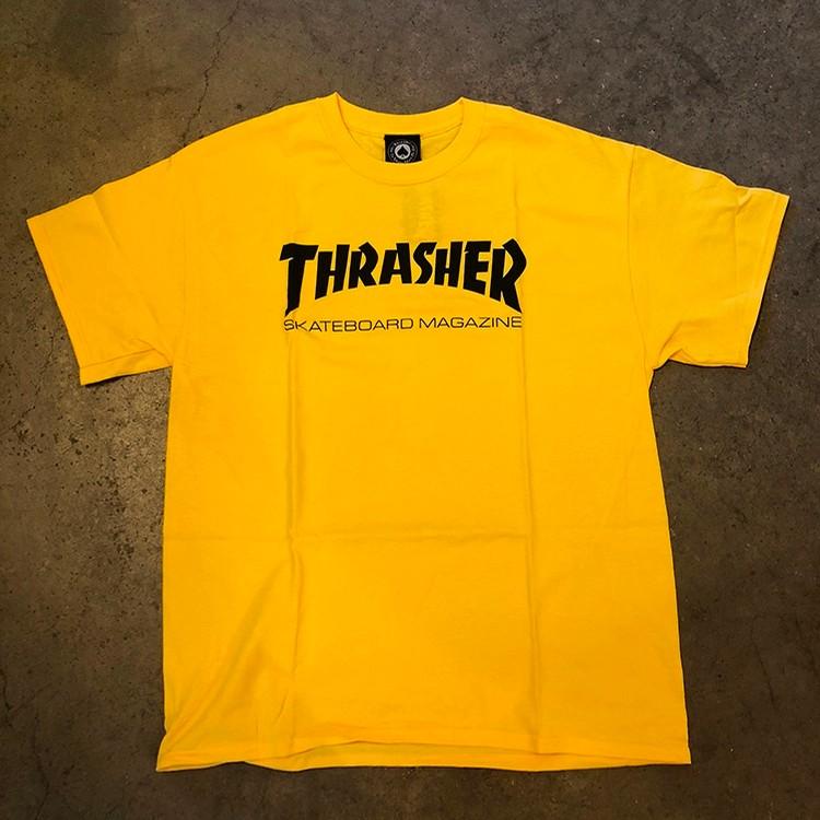 Thrasher Skate Mag Logo (Yellow)
