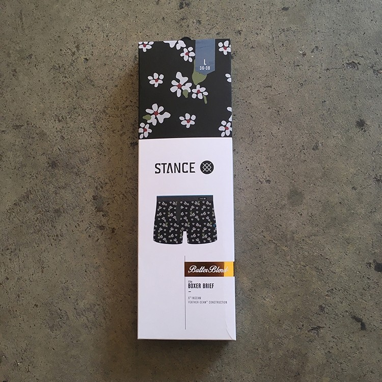 Stance Light Flowers Boxer Brief (Black)