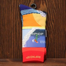 Rip N Dip Surfer Socks (Multi)