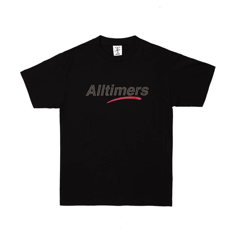 AllTimers Estate Tee with Glitter Ink (Black)