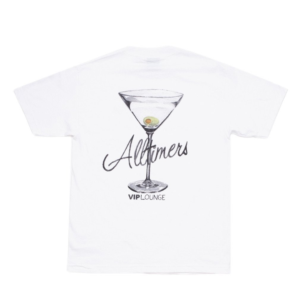 AllTimers Watercolor Logo Tee (White)