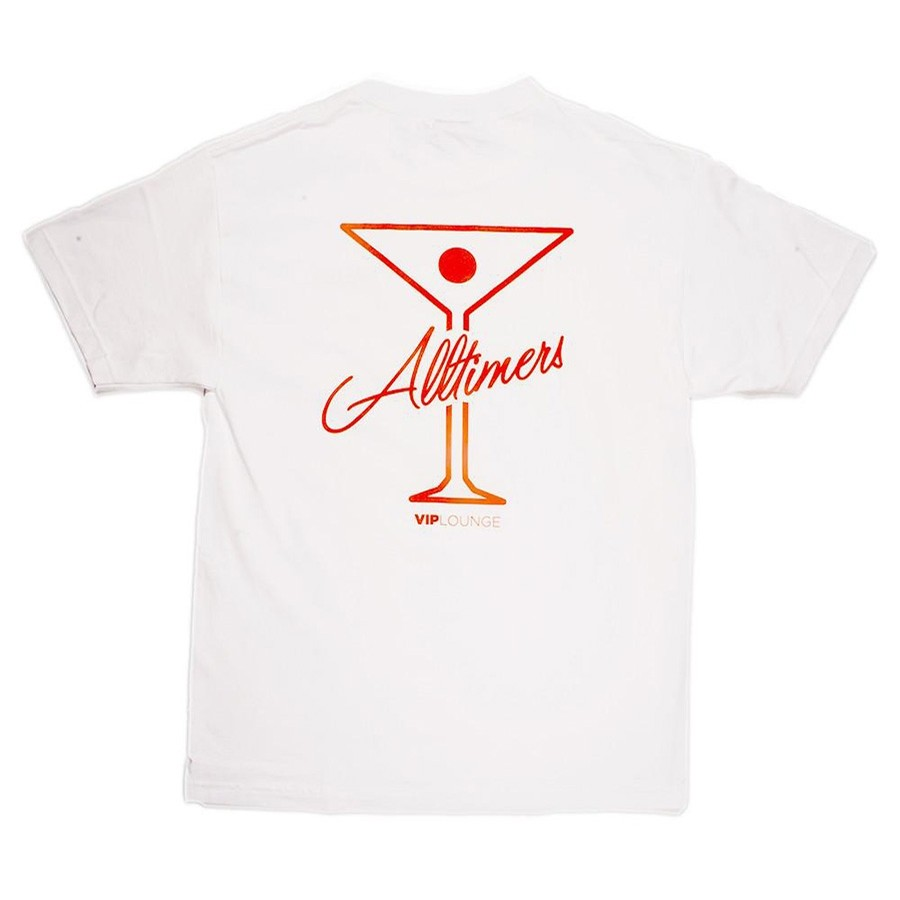 Logo Tee (White/Orange)