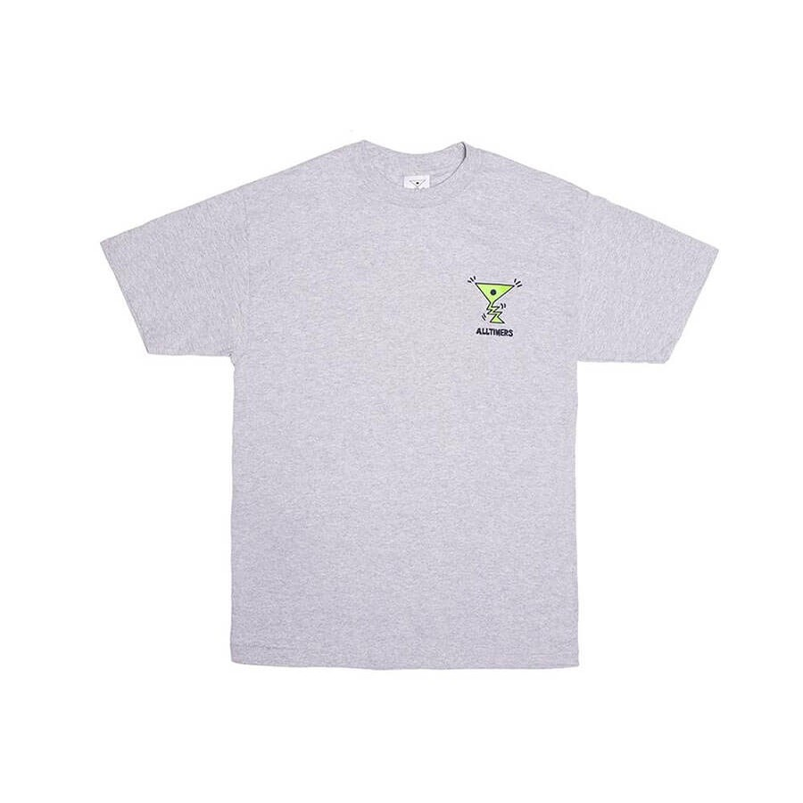 Action Tee (Heather Grey)