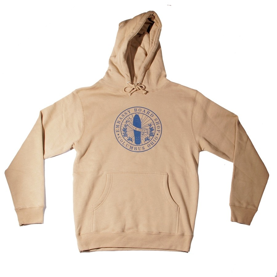 Embassy PATCH HOODIE (SAND)