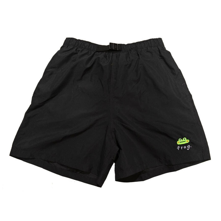 Frog Swim Trunks (Black)