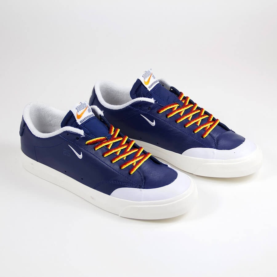 5266ce58e9ea Nike SB Zoom Blazer Low XT QS (Navy White) Shoes at Embassy